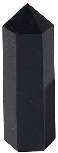 Luckeeper Healing Crystal Wands | 2' Black Obsidian| 6...