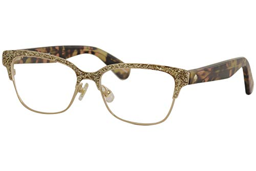 Eyeglasses Kate Spade Ladonna 0S41 Rose Gold Pink Havana