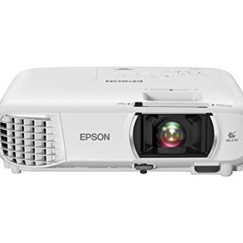 Epson Home Cinema 1080 3-chip 3LCD 1080p Projector, 3400 lumens Color and White Brightness,...