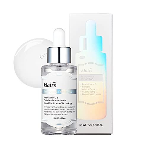 Klairs Freshly Juiced Vitamin Drops Serum Facial De Vitaminas - 1 Unidad, 35 Mililitro