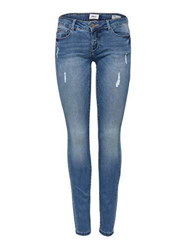 ONLY Damen Skinny Fit Jeans ONLCoral sl sk 3132Medium Blue Denim