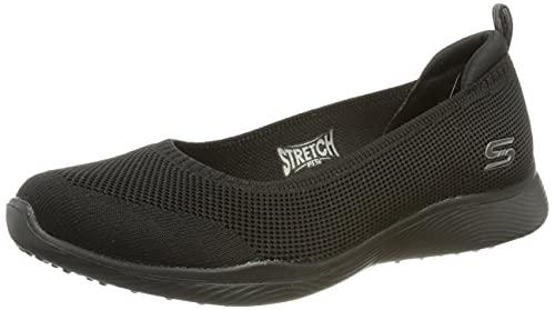 Skechers Microburst 2.0 BE Iconic, Zapatillas Mujer, Black, 38 EU