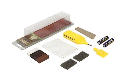 Picobello, Set di accessori per riparazione/restauro legno, parquet, laminati, mobili e scale,...