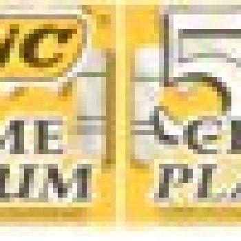BIC Chrome Platinum Razor Blade