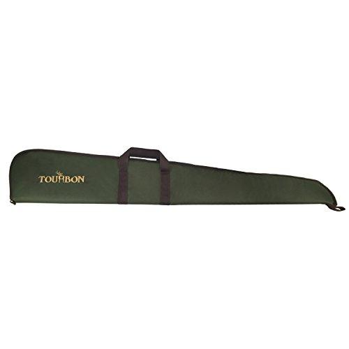 Tourbon Chasse Fusil Fusil Fusil Sac de Rangement avec Bandoulière Réglable - Vert (Étui Fusil)
