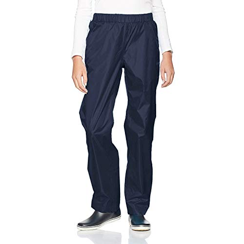 Gregster Regenhose für Männer und Frauen ,Blau (Navy) ,XL
