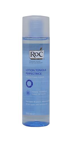 ROC Tónico Perfeccionador, adecuado para desmaquillar, destapar los poros, a la vez que...