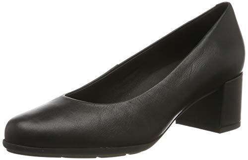Geox D New ANNYA Mid A, Zapatos con Tacón para Mujer, Negro (Black C9997), 35 EU
