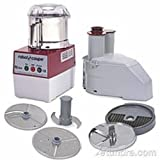 Robot Coupe R2 DICE Ultra Combination Food Processor, 3-Liter Bowl, Stainless Steel, 120v