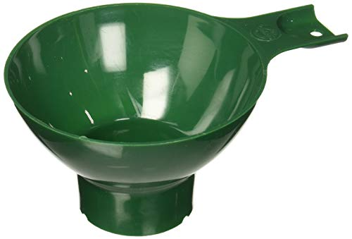 Norpro Canning Wide Mouth Plastic Funnel, Green, 4.75in/12cm
