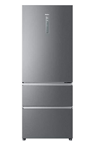 Haier A3FE743CPJ, Frigorifero con congelatore a cassetti, 70 cm, Libera Installazione