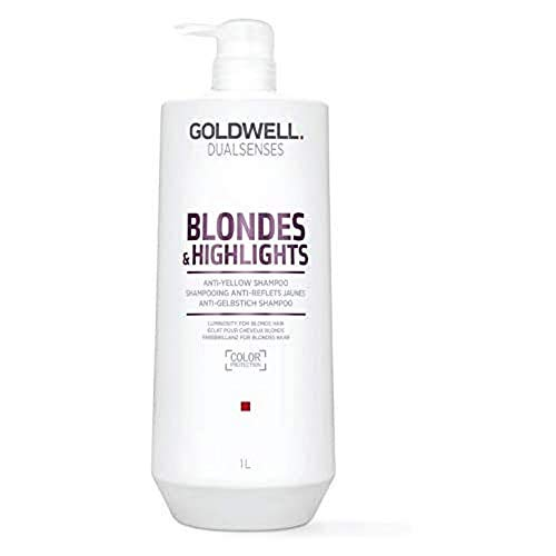 Goldwell Dualsenses Blondes & Highlights Anti Yellow Shampoo, 1er Pack (1 x 1 l)