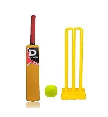 JRS Plastic Cricket kit for Kids Cricket Set of 10-14 Year Boys (Best Birthday Gift for Boys 8-12 Years Old)