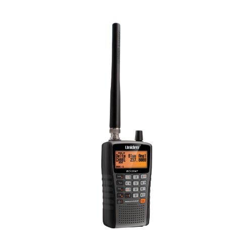 Uniden Bearcat BC125AT Handheld Scanner. 500 Alpha-Tagged channels. Public Safety, Police, Fire, Emergency, Marine, Military Aircraft, and Auto Racing Scanner. Lightweight, Portable Design.