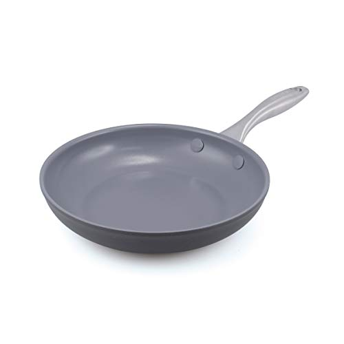 "GreenPan Lima 8"" Ceramic Non-Stick Open Frypan, Gray - CW0002858"