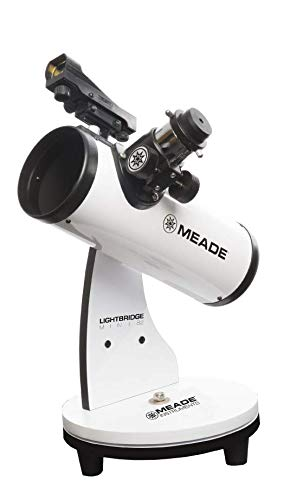 Meade Instruments LightBridge Mini 82 Reflector 33x - Telescopio (21 cm, 1,72 kg)