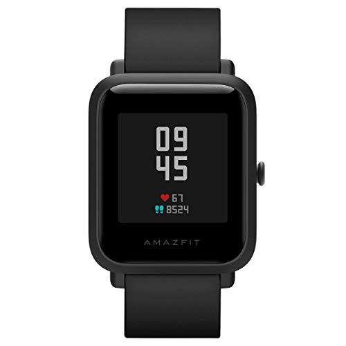 Amazfit Bip S Smartwatch 5ATM GPS GLONASS Inteligente Reloj Bluetooth Bip 2 para Android y iOS Version Global (Negro)