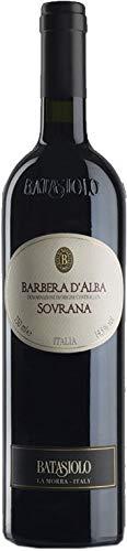 Batasiolo, BARBERA D'ALBA DOC SOVRANA, Vino Rosso Fermo Secco, Balsamico e Corposo, 750 ml