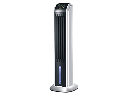 PURLINE RAFY 81 Raffrescatore evaporativo con funzione Ionizzante, display a LED, 70 W, nero e argento