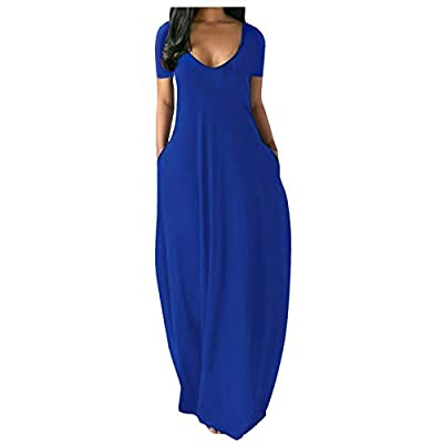 Women dress is made of high quality materials,durable enought for your daily wearing, soft fabric made and comfortable to wear Fashion design keep you cool to wear ,New look, New you!Super Soft and Light weight,Can be easily dress up or dress down We...