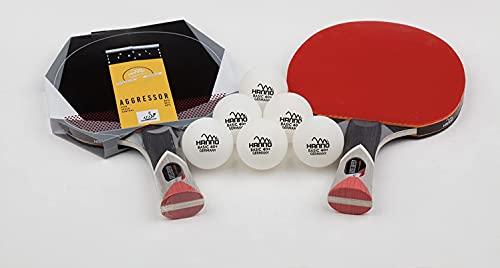 Hanno Tischtennisschläger in Profiqualität zum Bestpreis (Aggressor 6******)