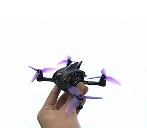 Full Speed Leader3 / 3SE 130mm Drone FPV Racing RC Mini Quadcopter F4 OSD 28A BLHeli_S 600mW Caddx Micro F1 PNP / BNF per FRSKY Flysky (BNF FS-RX2A, Leader 3SE Nero)