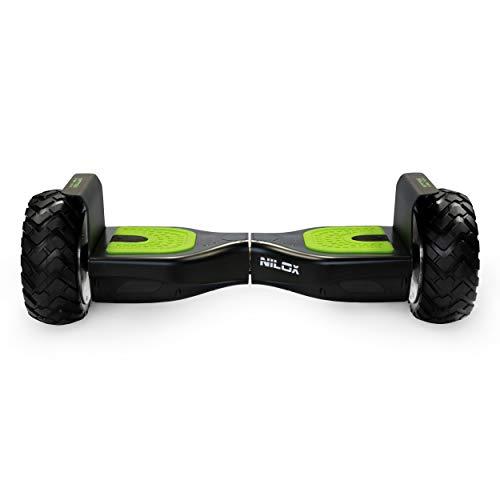 Nilox 30NXBKOR00001 - DOC OFF ROAD Hoverboard, Nero/verde, 1 pz.