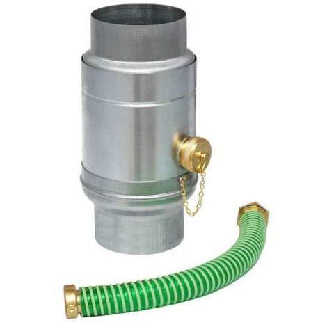Wassersammler mit Set Titanzink in den Größen 76, 80, 87 und 100 mm (100 mm)