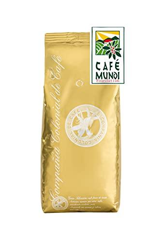 Cafe en Grano Natural 100% 1kg - Espresso intenso mezcla arabica y robusta consumo diario profesional- Comercio Justo