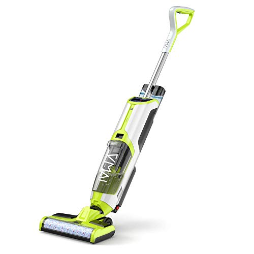 Wet Dry Vacuum Cleaner, Cordless Vacuum Cleaner and Mop for Hardwood...