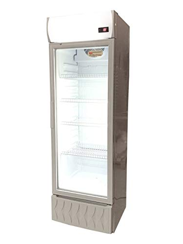 Frigo vetrina bibite refrigerata 1 anta in vetro 0 +10°C 195 litri lt