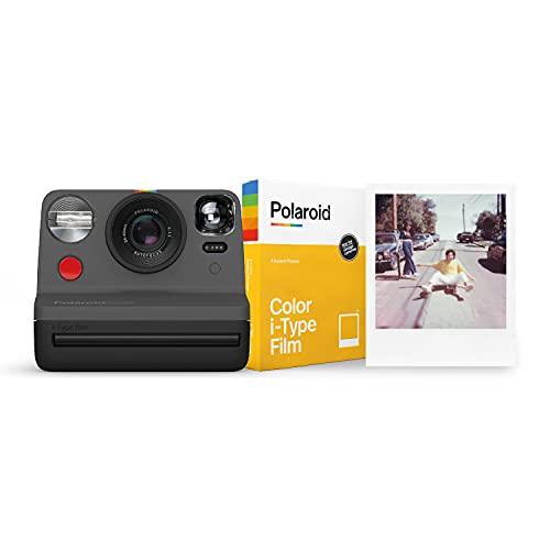 Polaroid Now スターターセット ブラック