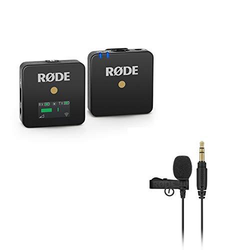 国内正規品 ピンマイク付きセット RODE ロード ワイヤレスゴー+ラベリアゴー Wireless GOワイヤレスマイク