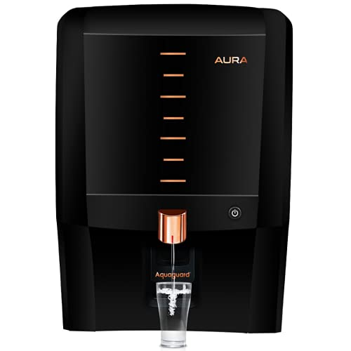 Eureka Forbes Aquaguard Aura 7L water purifier UV e-boiling+Ultra Filtration with Active Copper,...