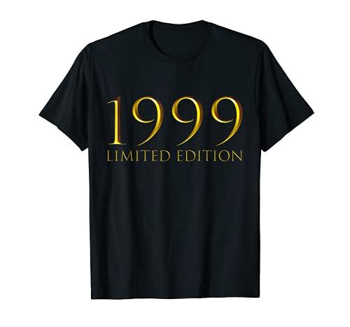 22 Años Cumpleaños Chico Chica Regalo Deco Divertido 1999 Camiseta