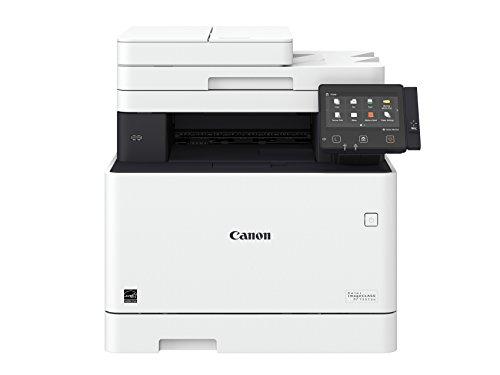 Canon Color imageCLASS MF733Cdw - All in One, Wireless, Duplex Laser Printer (Comes with 3 Year Limited Warranty), Amazon Dash Replenishment Ready