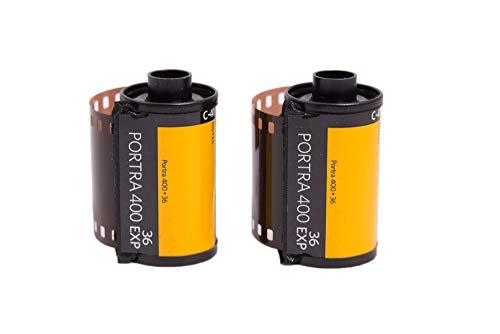 Kodak カラーネガティブフィルム 35mm ポートラ400 36枚 2本セット