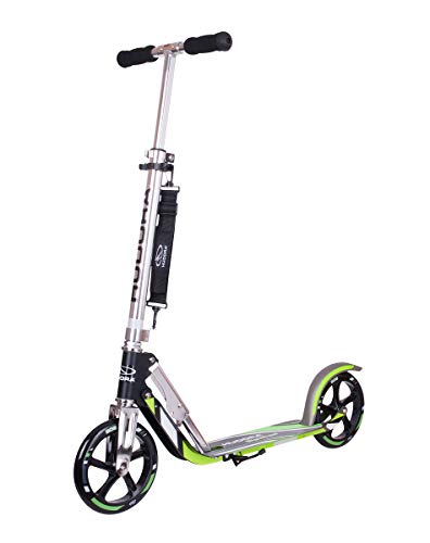 Folding Adults Kick Scooter for Kids Age 6-12 Years – HUDORA 8 Inch Big Wheels Scooter Support 220...