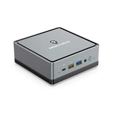 MINISFORUM DeskMini UM250ミニPC AMD Ryzen5 PRO 4C/8T 小型パソコンWindows 10 Pro Mini pc DDR4 16GB 512GB SSD インテルWIFI6 AX200 BT5.1 1000M LAN RJ45x2 Radeon Vega 8グラフィックス 4kトリプルディスプレイ出力 ミニパソコン