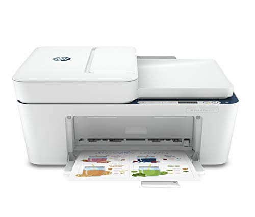 HP Deskjet 4123 Colour Printer, Scanner and Copier for Home, Compact Size, Automatic Document Feeder, Send Mobile fax, Easy Set-up Through HP Smart App on Your Mobile