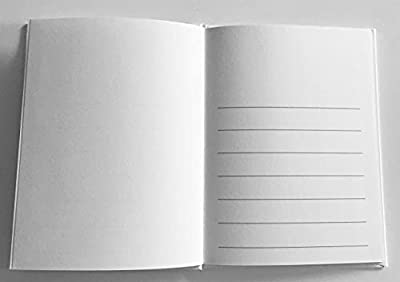 10 White Hard Covered Books with Blank Pages 28 pages (14 sheets) Use crayons, colored pencils, pens, markers, watercolors, etc Made in the USA Make great gifts, memory books, young author or classroom projects