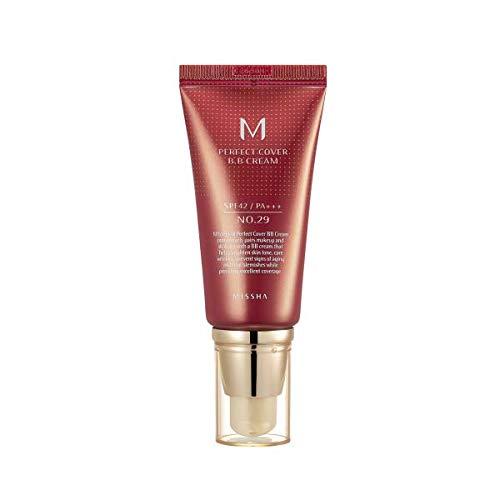 missha M Perfect Cover BB Cream spf42/PA + + + (No. 29/Caramel Beige) 50ml, 1er Pack