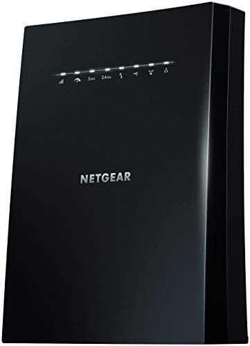 Netgear EX8000-100EUS Ripetitore Wi-Fi, Nero