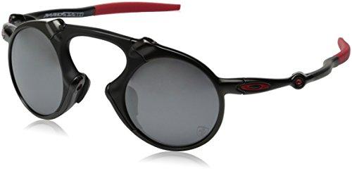 Oakley Herren Madman 601906 Sonnenbrille, Schwarz (Dark Carbon), 42