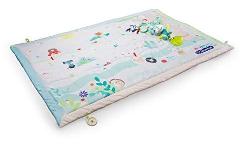Clementoni- Baby Friends Soft Play Mat-Tappeto da Gioco per Neonati, Bambino 0-18 Mesi, 17318