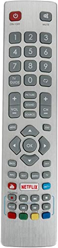 ALLIMITY SHW/RMC/0115 SHWRMC0115 Fernbedienung Ersetzt für Sharp Aquos 3D HD Smart TV with Netflix YouTube NET+