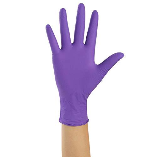 XXX 100 Pezzi da 9 Colori Guanti monouso Lattice per lavastoviglie Cucina Lavoro Medico Guanti da...