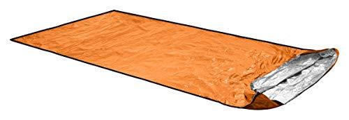 ORTOVOX Unisex– Erwachsene Bivy Ultralight Biwaksack, Shocking Orange, 235 x 110 cm (bis 2 Personen)
