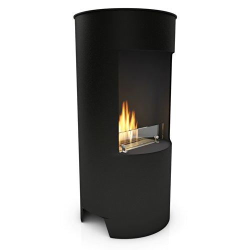 Imagin Bioethanol Fireplace - Stow Black