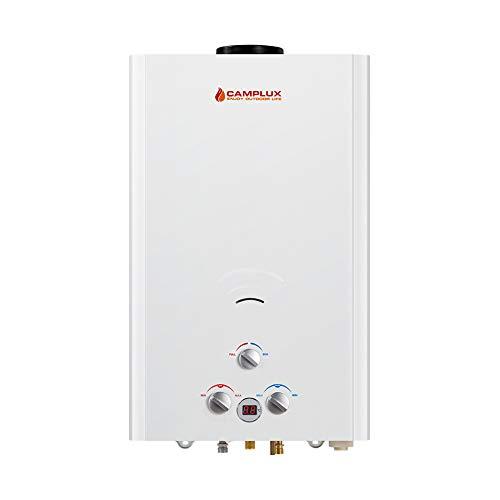 Camplux Bw42216L Chauffe-eau à gaz propane en extérieur de chauffage de l'eau chaude instantanée Douche chaudière
